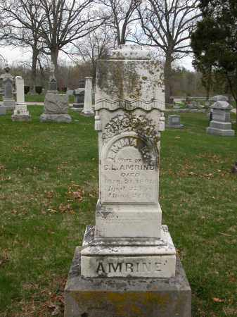 AMRINE, EMMA E. - Union County, Ohio | EMMA E. AMRINE - Ohio Gravestone Photos