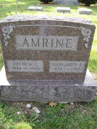 AMRINE, MARGARET B. - Union County, Ohio | MARGARET B. AMRINE - Ohio Gravestone Photos