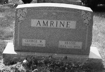 AMRINE, GEORGE W. - Union County, Ohio | GEORGE W. AMRINE - Ohio Gravestone Photos