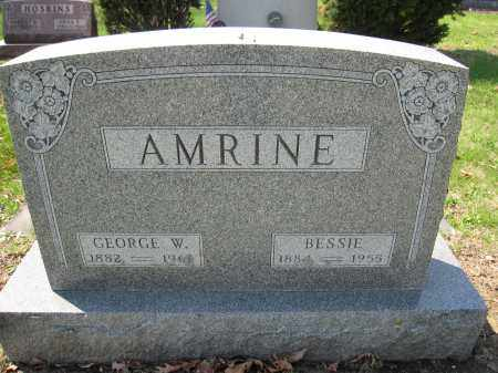 AMRINE, BESSIE CRIST - Union County, Ohio | BESSIE CRIST AMRINE - Ohio Gravestone Photos