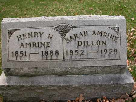 DILLON, SARAH AMRINE - Union County, Ohio | SARAH AMRINE DILLON - Ohio Gravestone Photos