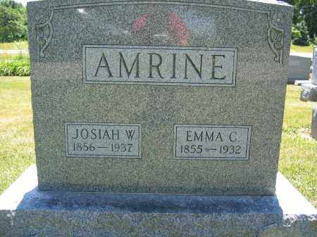 AMRINE, EMMA C. - Union County, Ohio | EMMA C. AMRINE - Ohio Gravestone Photos