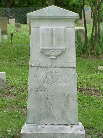 AMRINE, JOSIAH - Union County, Ohio | JOSIAH AMRINE - Ohio Gravestone Photos