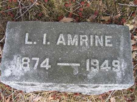 AMRINE, L.I. - Union County, Ohio | L.I. AMRINE - Ohio Gravestone Photos