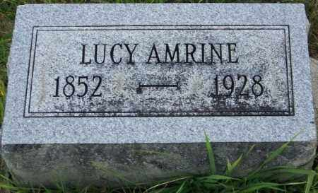 AMRINE, LUCY - Union County, Ohio | LUCY AMRINE - Ohio Gravestone Photos
