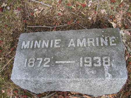 AMRINE, MINNIE - Union County, Ohio | MINNIE AMRINE - Ohio Gravestone Photos
