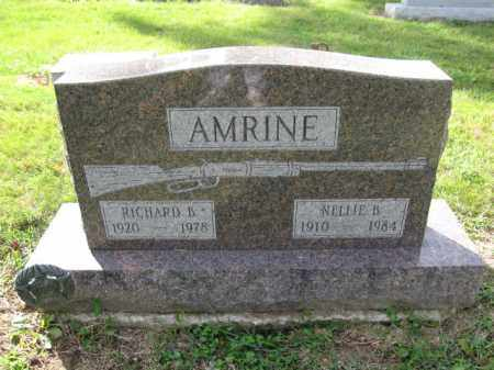 AMRINE, RICHARD B. - Union County, Ohio | RICHARD B. AMRINE - Ohio Gravestone Photos