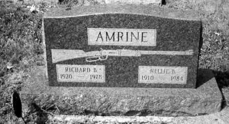 AMRINE, RICHARD B. - Union County, Ohio | RICHARD B. AMRINE - Ohio Gravestone Photos