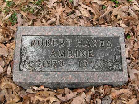 AMRINE, ROBERT HAYES - Union County, Ohio | ROBERT HAYES AMRINE - Ohio Gravestone Photos