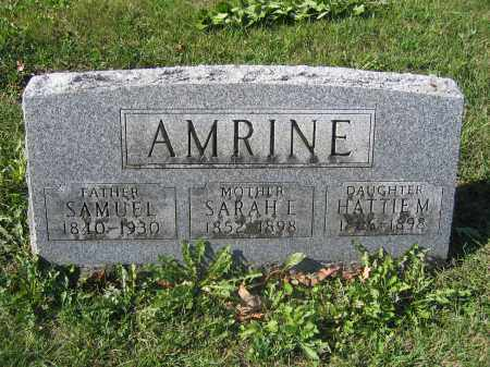 AMRINE, SAMUEL - Union County, Ohio | SAMUEL AMRINE - Ohio Gravestone Photos