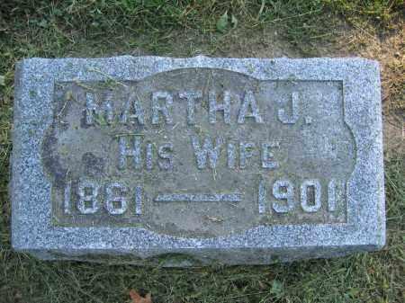 ANDERSON, MARTHA J. - Union County, Ohio | MARTHA J. ANDERSON - Ohio Gravestone Photos