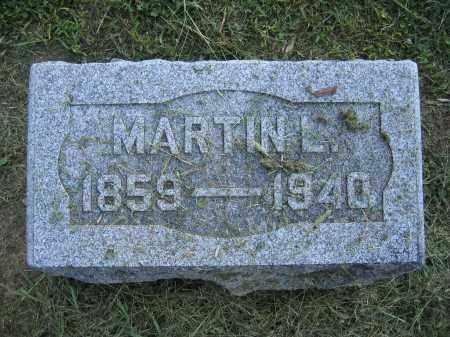 ANDERSON, MARTIN L. - Union County, Ohio | MARTIN L. ANDERSON - Ohio Gravestone Photos