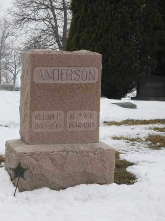 ANDERSON, M. ANGIE - Union County, Ohio | M. ANGIE ANDERSON - Ohio Gravestone Photos