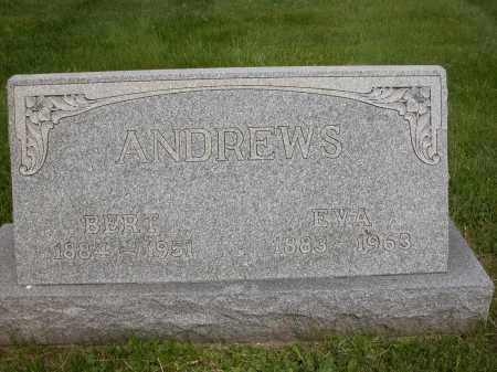 ANDREWS, EVA - Union County, Ohio | EVA ANDREWS - Ohio Gravestone Photos