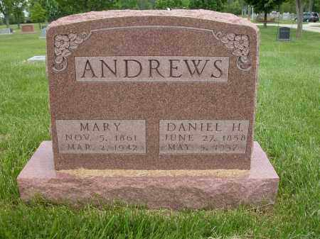 ANDREWS, DANIEL H. - Union County, Ohio | DANIEL H. ANDREWS - Ohio Gravestone Photos