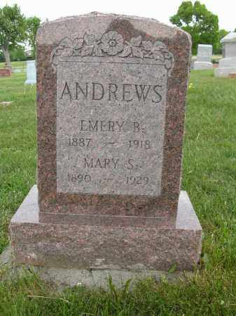 ANDREWS, MARY S. - Union County, Ohio | MARY S. ANDREWS - Ohio Gravestone Photos