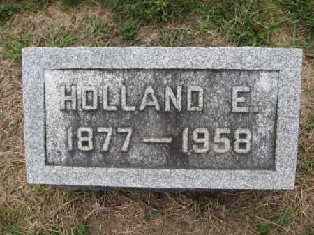 ANDREWS, HOLLAND E. - Union County, Ohio | HOLLAND E. ANDREWS - Ohio Gravestone Photos