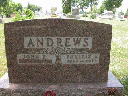 ANDREWS, JOHN R. - Union County, Ohio | JOHN R. ANDREWS - Ohio Gravestone Photos