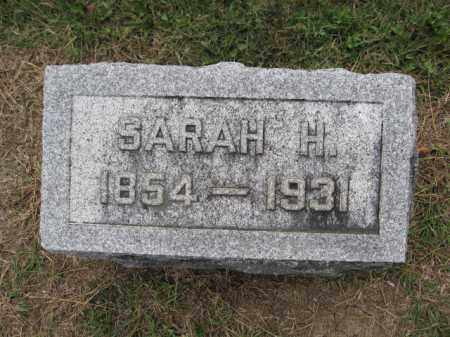 ANDREWS, SARAH H. MOHR - Union County, Ohio | SARAH H. MOHR ANDREWS - Ohio Gravestone Photos