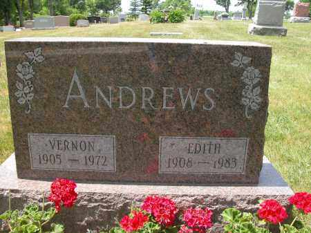 ANDREWS, EDITH - Union County, Ohio | EDITH ANDREWS - Ohio Gravestone Photos