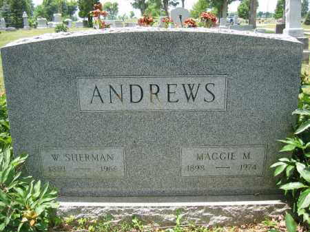 ANDREWS, W. SHERMAN - Union County, Ohio | W. SHERMAN ANDREWS - Ohio Gravestone Photos