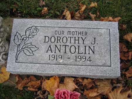 ANTOLIN, DOROTHY J. - Union County, Ohio | DOROTHY J. ANTOLIN - Ohio Gravestone Photos