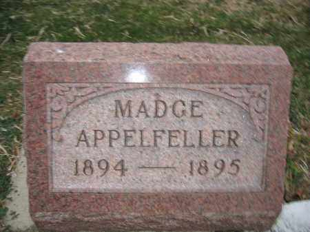 APPELFELLER, MADGE - Union County, Ohio | MADGE APPELFELLER - Ohio Gravestone Photos