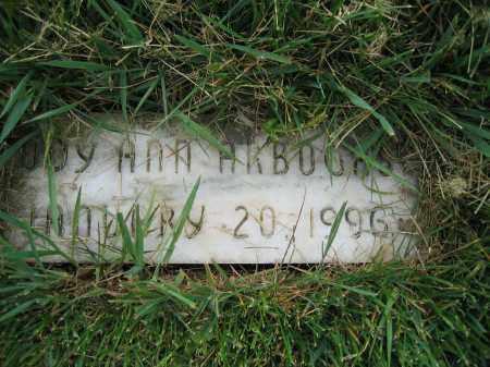 ARBOGAST, CODY ANN - Union County, Ohio | CODY ANN ARBOGAST - Ohio Gravestone Photos