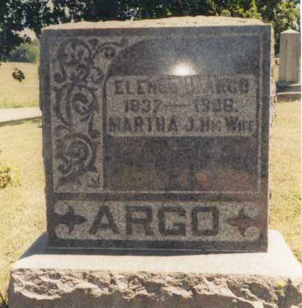 ARGO, MARTHA J. - Union County, Ohio | MARTHA J. ARGO - Ohio Gravestone Photos