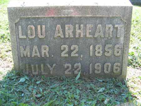 ARHEART, LOU - Union County, Ohio | LOU ARHEART - Ohio Gravestone Photos