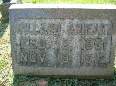 ARHEART, WILLARD - Union County, Ohio | WILLARD ARHEART - Ohio Gravestone Photos