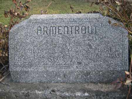 ARMENTROUT, AMSEL - Union County, Ohio | AMSEL ARMENTROUT - Ohio Gravestone Photos