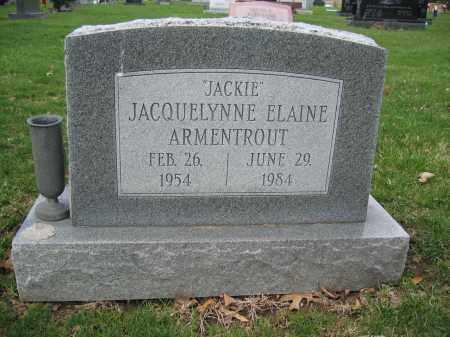 ARMENTROUT, JACQUELYNNE ELAINE - Union County, Ohio | JACQUELYNNE ELAINE ARMENTROUT - Ohio Gravestone Photos