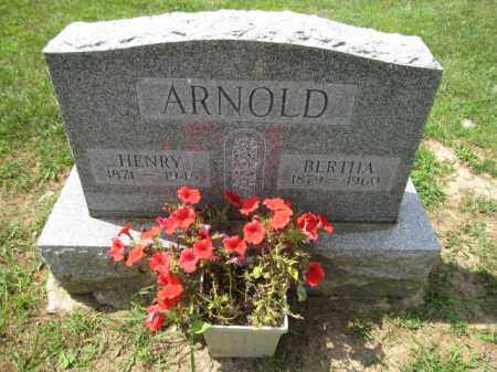 ARNOLD, BERTHA - Union County, Ohio | BERTHA ARNOLD - Ohio Gravestone Photos