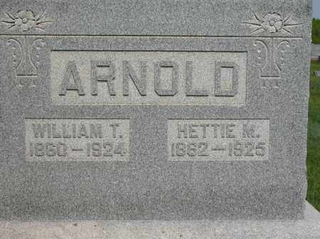 ARNOLD, HETTIE M. - Union County, Ohio | HETTIE M. ARNOLD - Ohio Gravestone Photos