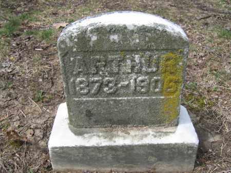 ARTHUR, FRANK W. - Union County, Ohio | FRANK W. ARTHUR - Ohio Gravestone Photos