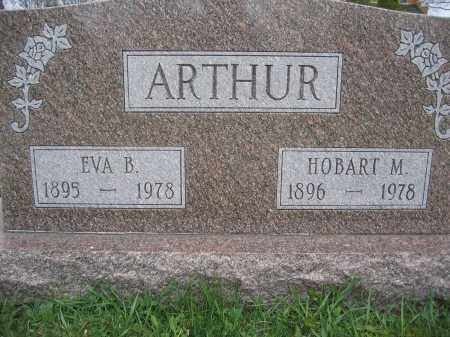 ARTHUR, EVA B. - Union County, Ohio | EVA B. ARTHUR - Ohio Gravestone Photos