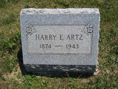 ARTZ, HARRY E. - Union County, Ohio | HARRY E. ARTZ - Ohio Gravestone Photos