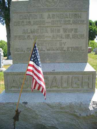 ASHBAUGH, DAVID R. - Union County, Ohio | DAVID R. ASHBAUGH - Ohio Gravestone Photos