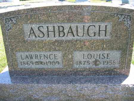ASHBAUGH, LOUISE - Union County, Ohio | LOUISE ASHBAUGH - Ohio Gravestone Photos