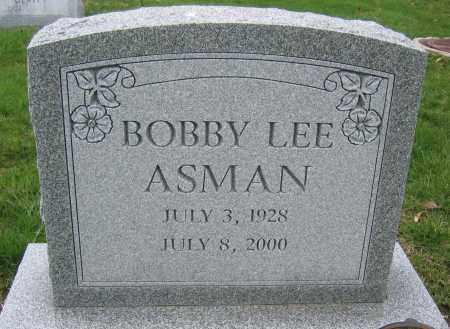 ASMAN, BOBBY LEE - Union County, Ohio | BOBBY LEE ASMAN - Ohio Gravestone Photos