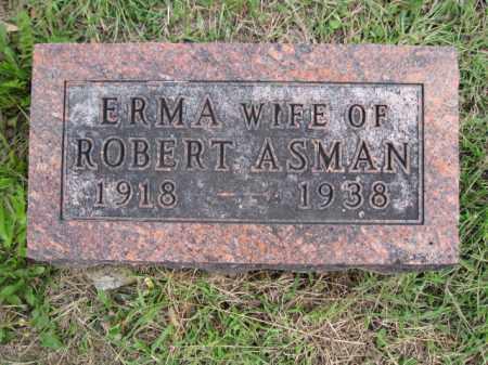 ASMAN, ERMA ALBERTA - Union County, Ohio | ERMA ALBERTA ASMAN - Ohio Gravestone Photos