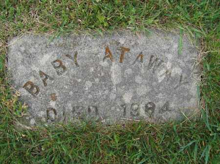 ATAWAY, INFANT SON - Union County, Ohio | INFANT SON ATAWAY - Ohio Gravestone Photos