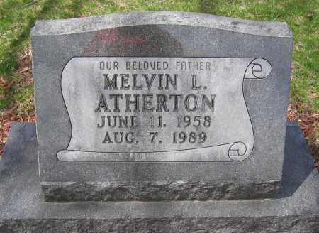 ATHERTON, MELVIN L. - Union County, Ohio | MELVIN L. ATHERTON - Ohio Gravestone Photos