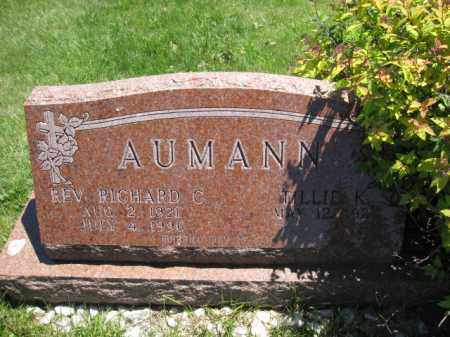 AUMANN, TILLIE K. - Union County, Ohio | TILLIE K. AUMANN - Ohio Gravestone Photos