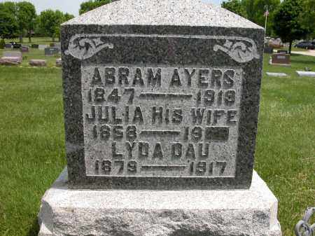 AYERS, ABRAM - Union County, Ohio | ABRAM AYERS - Ohio Gravestone Photos