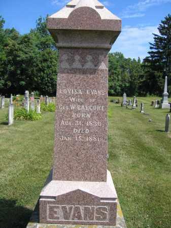 BABCOKE, LOUISA EVANS - Union County, Ohio   LOUISA EVANS BABCOKE - Ohio Gravestone Photos
