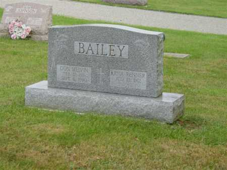 BAILEY, ERNA RENNER - Union County, Ohio | ERNA RENNER BAILEY - Ohio Gravestone Photos
