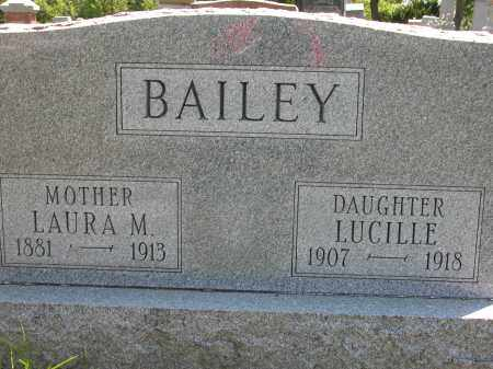 BAILEY, LAURA M. - Union County, Ohio | LAURA M. BAILEY - Ohio Gravestone Photos