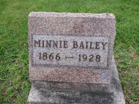 BAILEY, MINNIE - Union County, Ohio | MINNIE BAILEY - Ohio Gravestone Photos